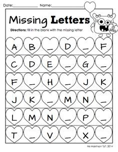Free Printable Letter Worksheets For Kindergarten - Yahoo Image Search Results