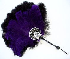 Beautiful! what do you think T? Sapphire & Sage - Renaissance & Medieval Feather Fans Collection http://www.sapphireandsage.com/feather fans