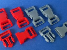 Side Release Buckle 3/4 inch by UniverseOfDesign #3dprintingprojects