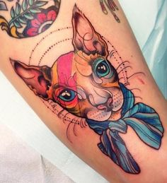 sphynx tattoo portrait - Google Search