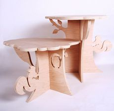 Would be super cute with some matching stools.