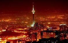 Milad Tower, also known as Borj-e Milad or Tehran/Teheran Tower, is a 435 m-high multi-purpose Iranian concrete tower built in 2007 in between the Shahrak-e Gharb and Gisha districts of Tehran. Best Places To Live, Places To Travel, Gondola Lift, Last Minute Travel Deals, Teheran, Iran Travel, Tehran Iran, Tower Building, Hiking Spots