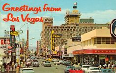 Las Vegas NV Hotel Fremont Casino Signs Movie Marquee Old Cars Postcard Las Vegas Map, Vegas Casino, Vintage Postcards, Vintage Photos, Vintage Items, Nevada, Flamingo Hotel, Old Vegas, Fremont Street
