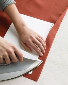 When you're hemming fabric -- whether for table linens, curtains, or clothes -- accuracy is important. Ensure good results and save time with our foolproof technique.