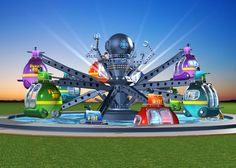 "RED BARON ""SUB and IMMERSION"" - Technical Park - Amusement Rides and amusement rides for sale"