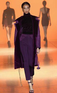 Cushnie von Best Looks at Fashion Week Herbst 2019 - Kleidung 2020 Couture Mode, Couture Fashion, Runway Fashion, High Fashion, Winter Fashion, Fashion Show, Fashion Outfits, Womens Fashion, Fashion Design