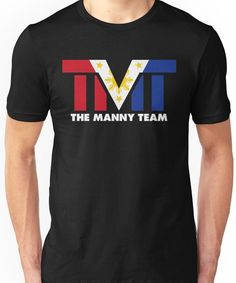 'The Manny Team Filipino Flag TMT by AiReal Apparel' T-Shirt by airealapparel Filipino, Tshirt Colors, Wardrobe Staples, Female Models, Classic T Shirts, Flag, Tees, Mens Tops, How To Wear