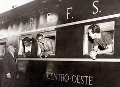 Dirceu Lopes, Piazza e Tostão nas janelas do trem, em 1966.