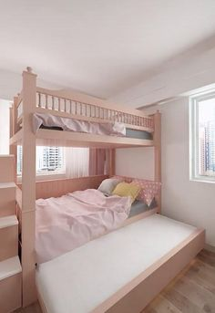 Small Room Design Bedroom, Girls Room Design, Kids Bedroom Designs, Home Room Design, Home Decor Bedroom, Home Interior Design, Cool Kids Bedrooms, 3d Home, Dream Rooms
