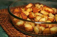 Patate al forno con pancetta e cipolla