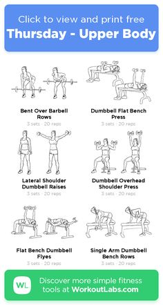 How To Build Your Own Beginners Fitness Workout Plan Pilates Workout Routine, Fitness Workouts, Upper Body Workout Gym, Butt Workout At Home, Workout Plan Gym, Daily Gym Workout, Planet Fitness Workout Plan, Free Weight Workout, Upper Body Workout For Women