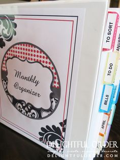 Delightful Order: January Challenge: Organizing Papers (Mail & Bills)