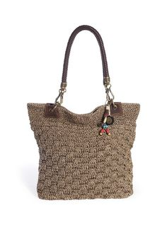 Crochet crazy! Get the trend with our favorite crochet tote perfect to tote around all your necessities.