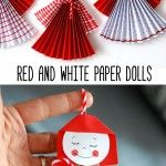 Red+and+White+PAPER+DOLLS