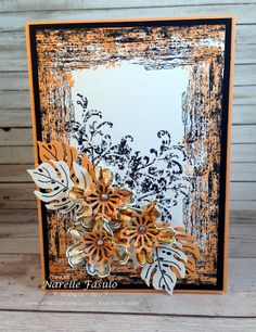 Peekaboo Peach - Narelle Fasulo - Simply Stamping with Narelle
