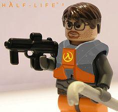 Half-Life Lego - for my husband.
