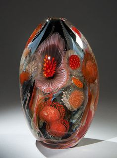 """ERIC RUBENSTEIN - """"Seascape"""" Series - """"One of my goals is to convey to the viewer the sense of awe and exhilaration that I experience when I create a glass object. I often consider myself the luckiest person on the planet to have found my passion and work with it every day."""""""