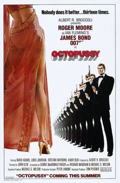 Octopussy: Extra Large Movie Poster Image - Internet Movie Poster Awards Gallery