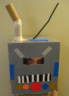 Robot mask.