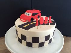 Lightning McQueen bday cake