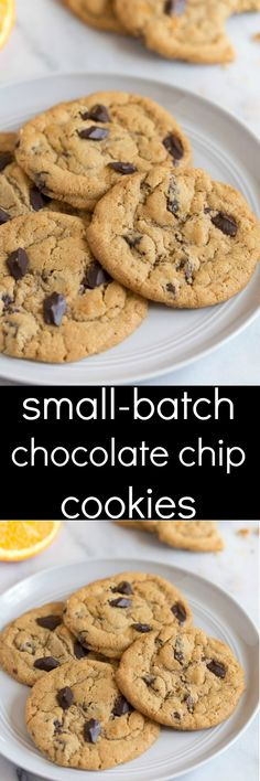 Small batch chocolate chip cookies for two! A half batch chocolate chip cookies … Small batch chocolate chip cookies for two! A half batch chocolate chip cookies recipe that is absolute perfection! Sugar Cookie Recipe Small Batch, Chocolate Chip Cookies Recipe From Scratch, Small Batch Baking, Cookie Recipes From Scratch, Chip Cookie Recipe, Chocolate Cookie Recipes, Best Cookie Recipes, Sugar Cookies Recipe, Yummy Cookies