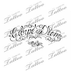 tattoos carpe diem flowers idea for my inside right wrist tattoos that i love and future ideas. Black Bedroom Furniture Sets. Home Design Ideas