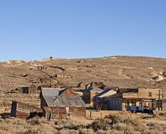 The Mother Lode of Ghost Towns: Bodie California: Town of Bodie