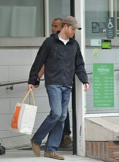 Prince Harry was seen scanning the reduced ready meals on a trip to the supermarket this week