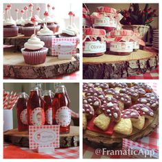 Little Red Riding Hood theme Birthday Party!