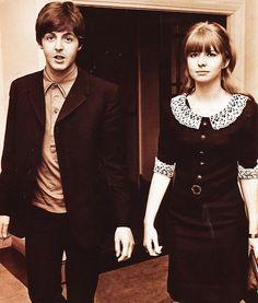 Paul McCartney & Jane Asher