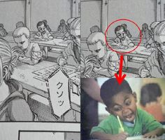 Manga artists like to reward observant readers. - Genius Meme - Manga artists like to reward observant readers. The post Manga artists like to reward observant readers. appeared first on Gag Dad. Silly Jokes, Crazy Funny Memes, Stupid Memes, Funny Relatable Memes, Wtf Funny, Funny Cute, Hilarious, Anime Meme, Aot Memes