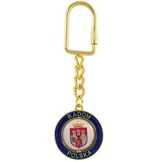 A metal keyring with a rotating center. Gadgets, Keychains, Metallica, Centre, Personalized Items, Gold, Shopping, Pendant, Advice