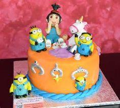 torta muecos mi villano favorito -.