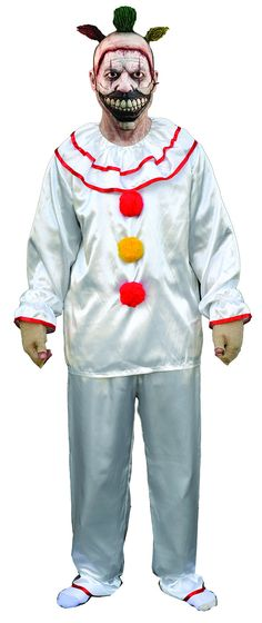 Trick or Treat Studios and 20th Century Fox are proud to present the Official Twisty the Clown Costume, from American Horror Story Freak Show. Based on hundreds of behind the scenes pictures provided