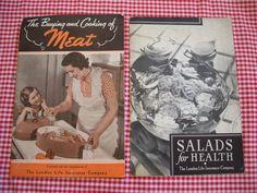 Items similar to FOUR booklets Food Plus, Vintage Cookbooks, London Life, Vintage Advertisements, Booklet, Ephemera, Advertising, Paper, Etsy