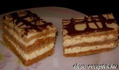 Érdekel a receptje? Kattints a képre! Sweet Cookies, Hungarian Recipes, Tiramisu, Cookie Recipes, Clean Eating, Food And Drink, Sweets, Cooking, Ethnic Recipes