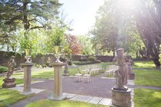 Wonderful walled garden at Tankardstown House is simply perfect for an outdoor wedding ceremony in Ireland. House Ireland, Ireland Homes, Ireland Destinations, Top Destination Weddings, Walled Garden, Wedding Ceremonies, Water Lilies, Architecture Details, Countryside