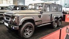 Effection droite Land Rover Defender