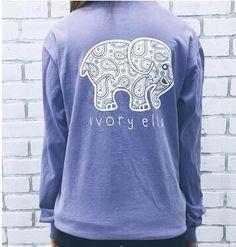 4c9e741ba894 Ivory Ella Women Print Animal Elephant T Shirt Loose Long Sleeve Harajuku  Tops