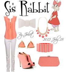 """""""Sis Rabbit"""" by juliet15243 on Polyvore"""