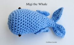 free crochet pattern for whale amigurumi