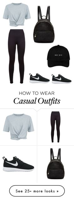 """""""Casual"""" by korriinn on Polyvore featuring adidas, T By Alexander Wang, NIKE and STELLA McCARTNEY"""