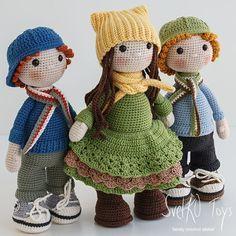 SvetKO Toys   family crochet atelier