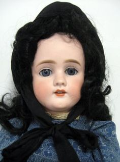 27'' Doll Kley Hahn. German Bisque Open Close/eyes, Ope