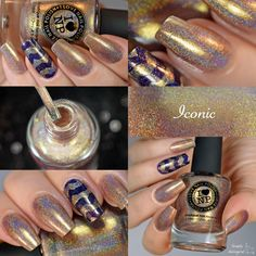 Nailpolis Museum of Nail Art | ILNP Iconic Swatch by simplynailogical