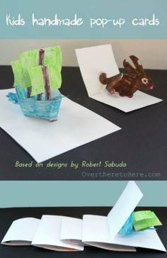 how to make pop up cards kids #popupcards #homemadecards #kidsartsandcradts