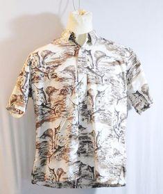 Kahala X-Large Sword Fish Aloha Hawaiian Shirt #Kahala #Hawaiian