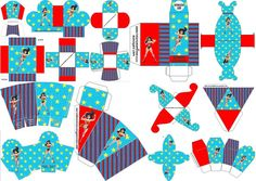 Mujer Maravilla: cajas para imprimir gratis para Fiestas.
