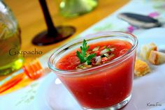 Kenzo Fco Fotografia Gastronômica: Gazpacho