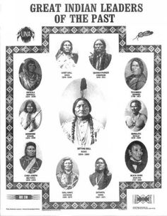 # FAMOUS NATIVE AMERICANS